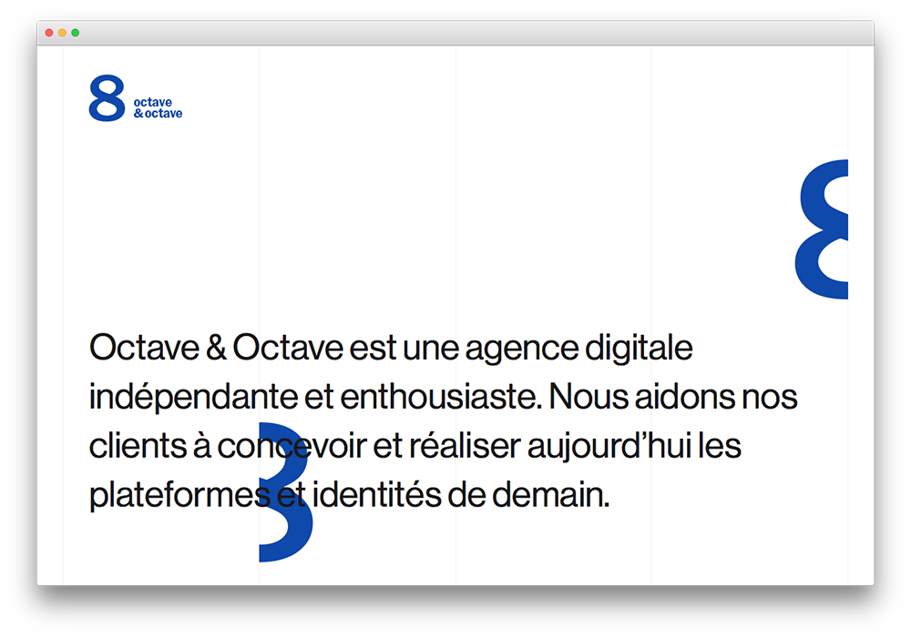 Octave & Octave - Landing Page
